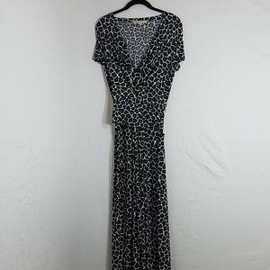 Michael Kors High Low Wrap Dress